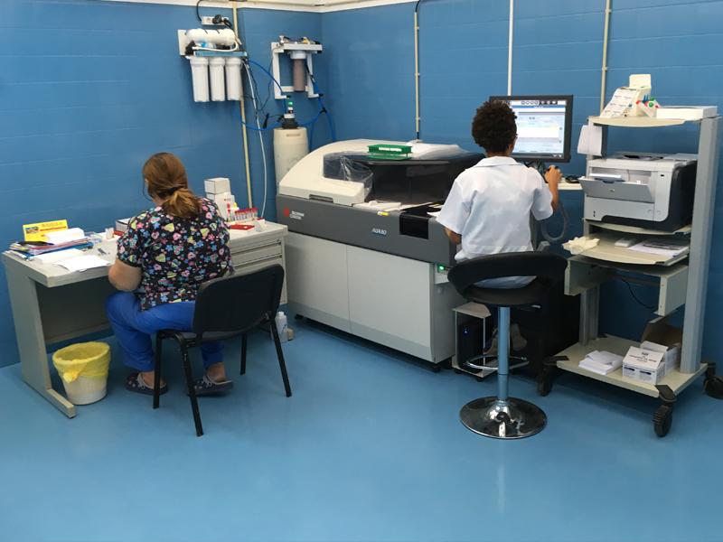 Sala Robótica do Laboratório